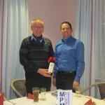 Dr. Laun mit Moderator Michael Weimer