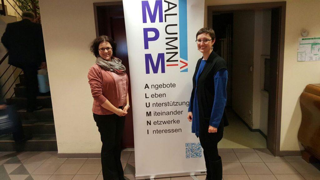 Die 2017 augeschiedenen Vorstände: Melanie Gentner und Kristin Gitter